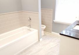 bathroom tub toilet and sink