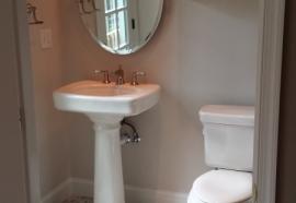 first floor bath complete
